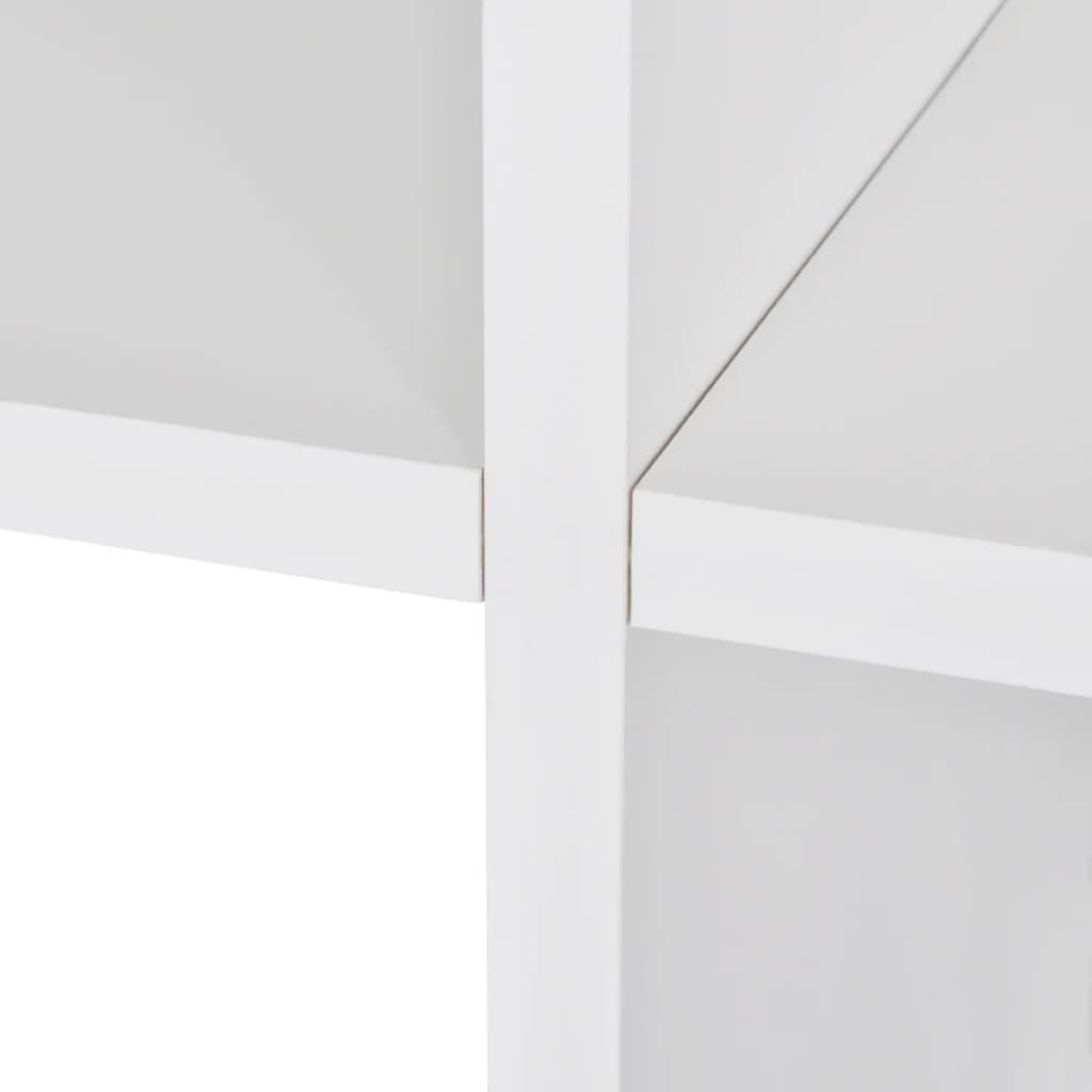 der treppenregal stufenregal b cherregal standregal 107 cm wei online shop. Black Bedroom Furniture Sets. Home Design Ideas