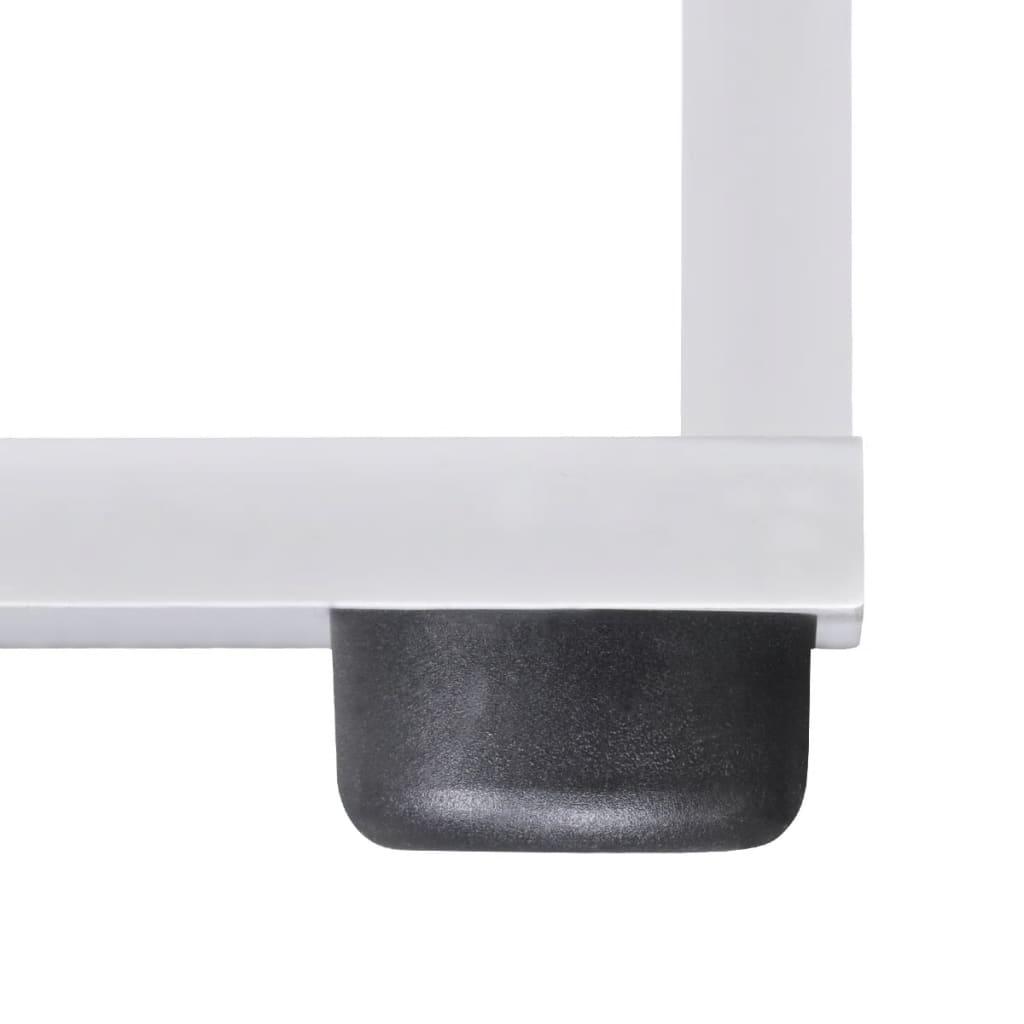 treppenregal stufenregal b cherregal standregal 107 cm wei g nstig kaufen. Black Bedroom Furniture Sets. Home Design Ideas