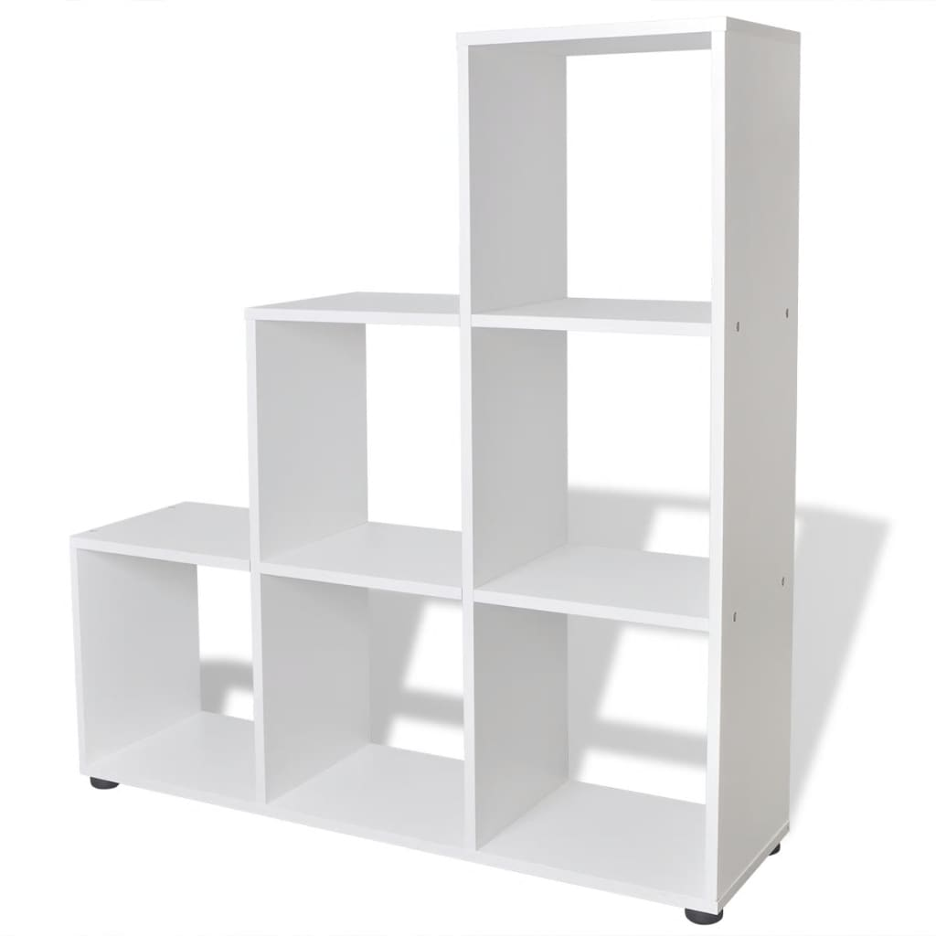 la boutique en ligne tag re biblioth que 107 cm blanc. Black Bedroom Furniture Sets. Home Design Ideas