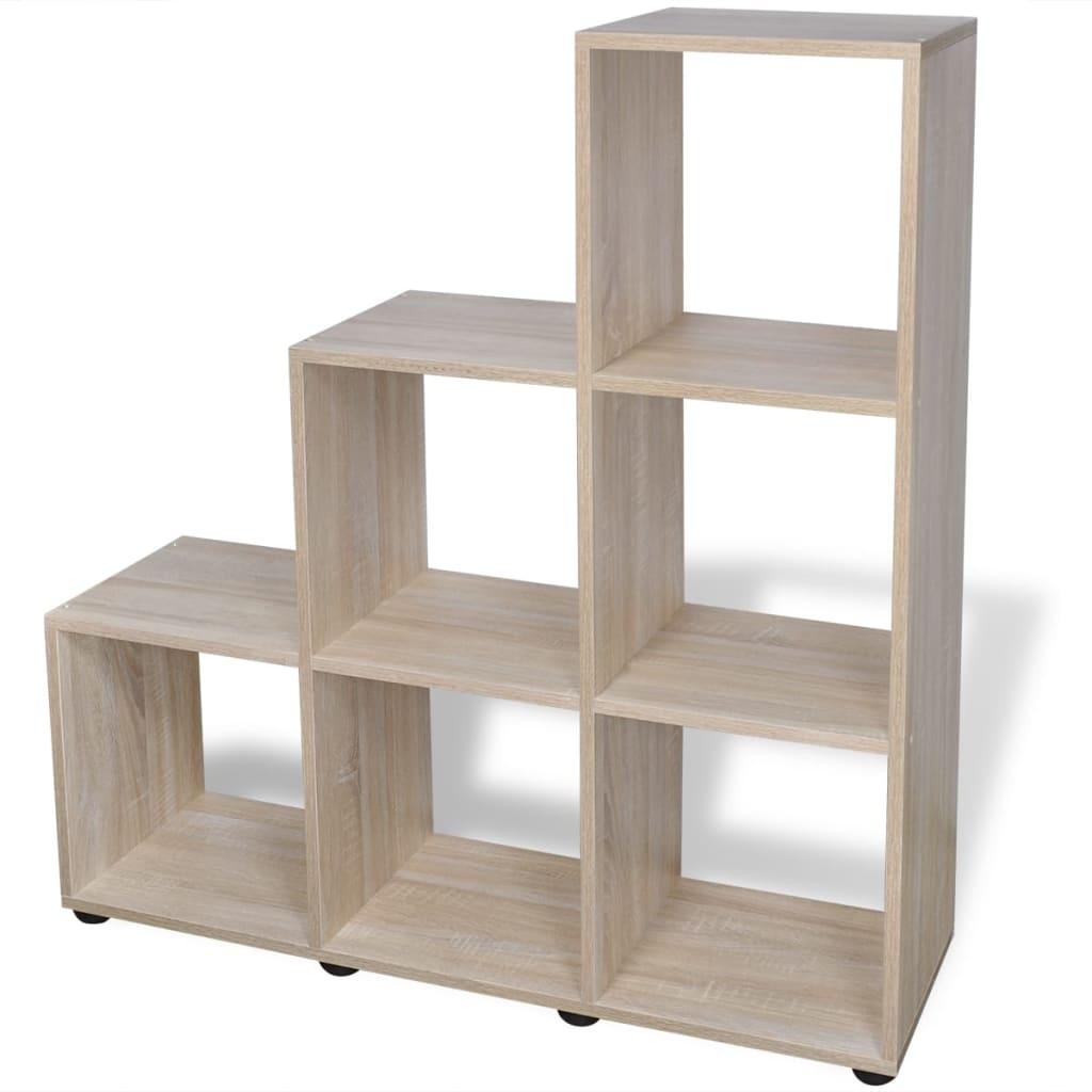 la boutique en ligne tag re biblioth que 107 cm ch ne. Black Bedroom Furniture Sets. Home Design Ideas