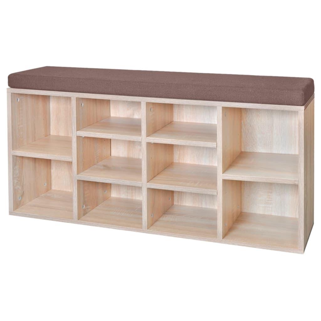 acheter banc de rangement de chaussures avec 10. Black Bedroom Furniture Sets. Home Design Ideas