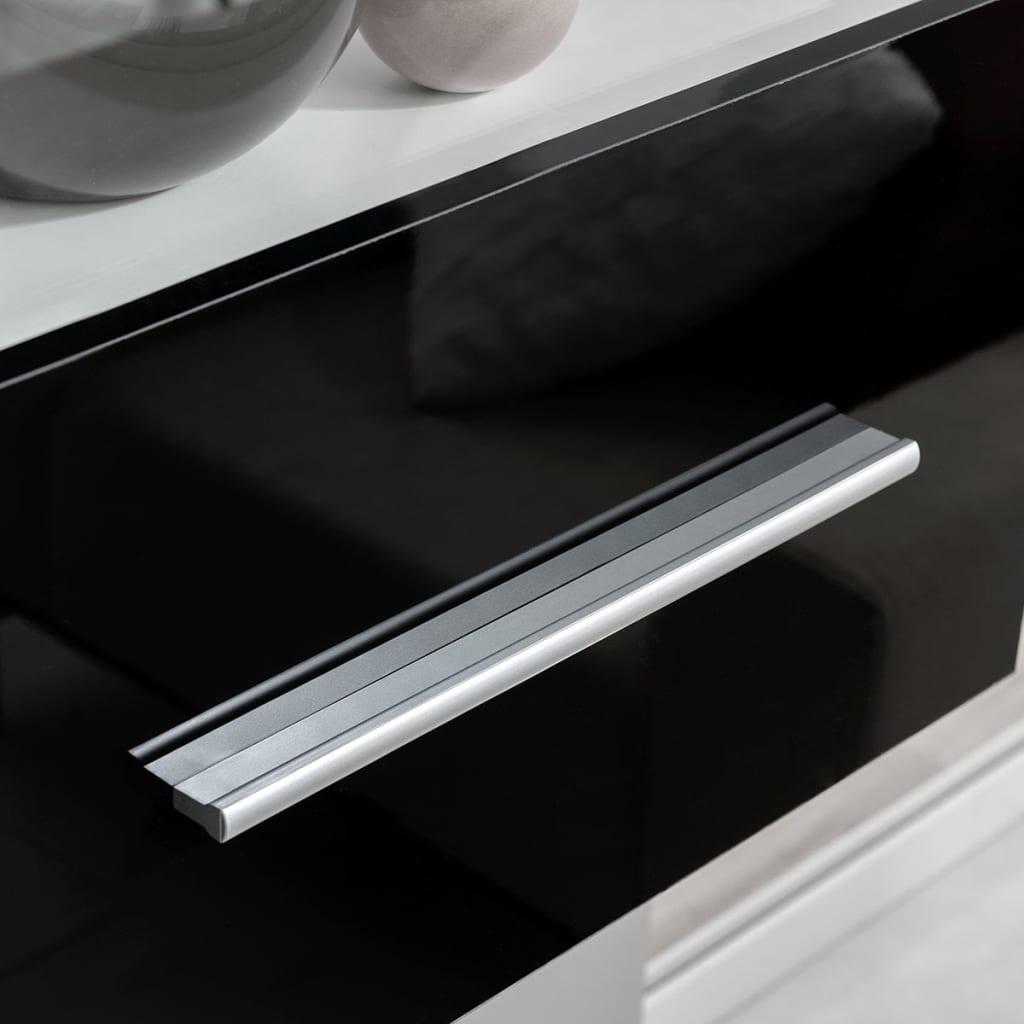 Acheter meuble tv vitrine murale avec lumi re led 4 for Meuble a tv murale