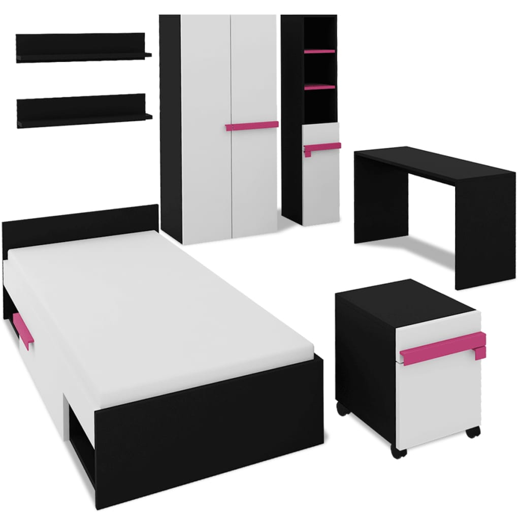 la boutique en ligne vidaxl jeu de mobilier de chambre. Black Bedroom Furniture Sets. Home Design Ideas