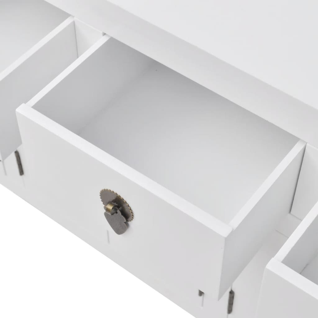 la boutique en ligne vidaxl buffet en style chinois en bois massif blanc. Black Bedroom Furniture Sets. Home Design Ideas