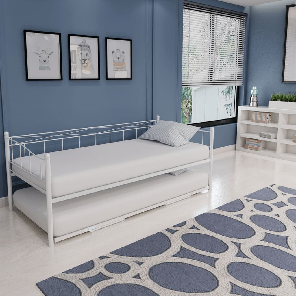 Multi functional day bed frame with trundle guest 180x200 for Divan 90x200