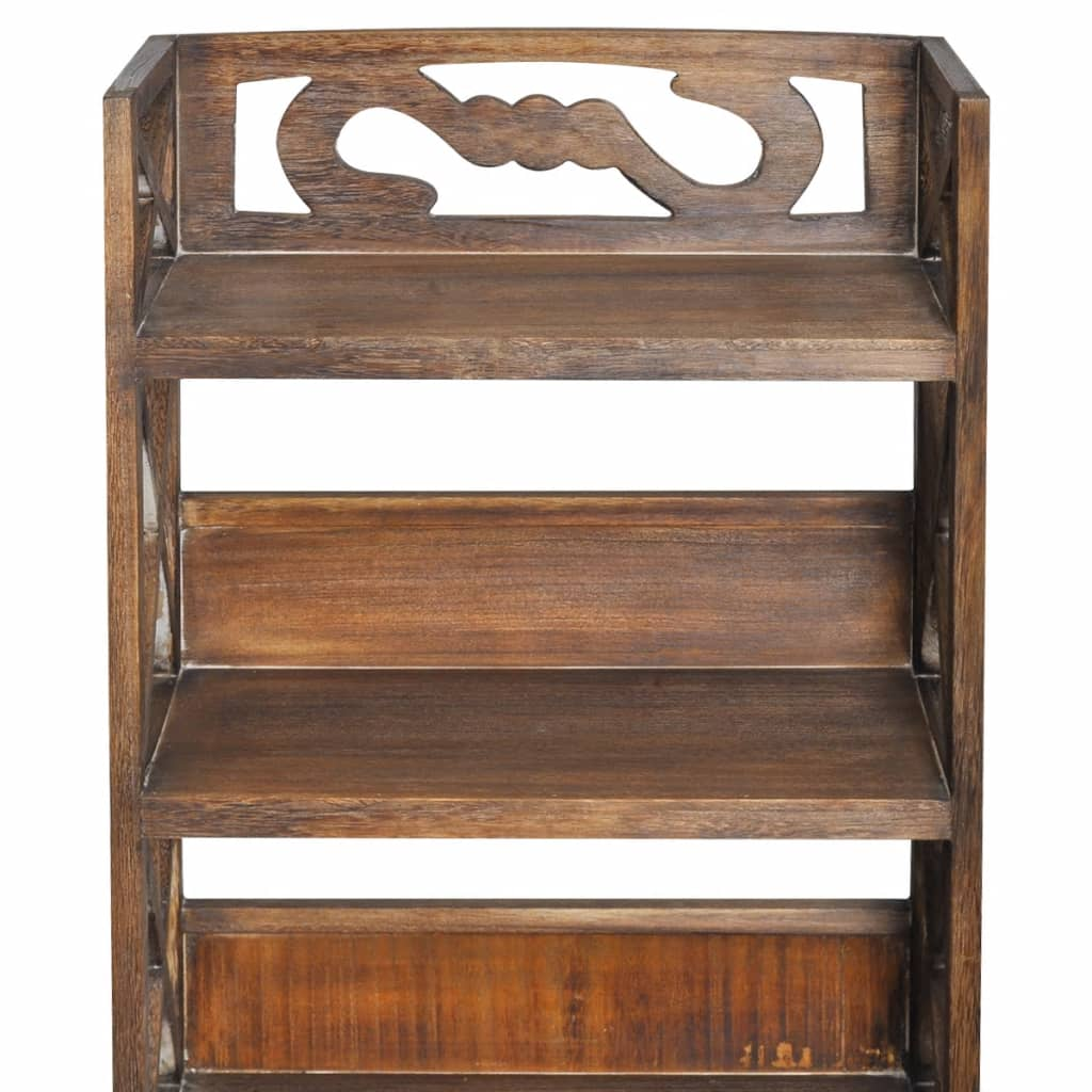 Acheter vidaxl armoire de salle de bain bois albuquerque for Armoire salle de bain en bois