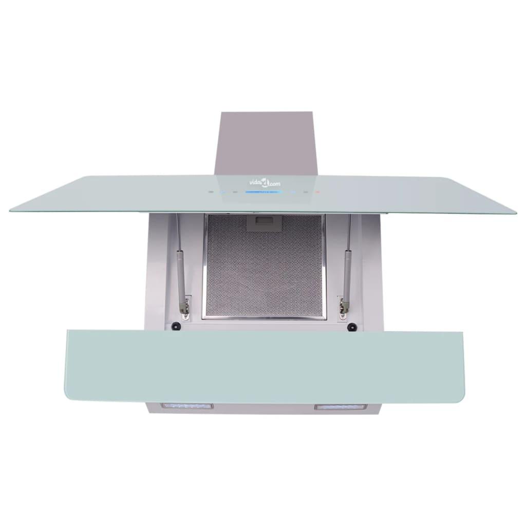 vidaXL-Campana-Extractora-Modelo-con-Pantalla-Tipo-Tactil-Blanca-Ancho-900-mm