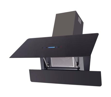 vidaxl hotte aspirante tactile 900 mm noire. Black Bedroom Furniture Sets. Home Design Ideas