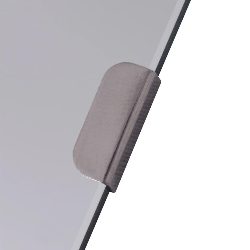 Acheter vidaxl carreaux de miroir verre sans cadre 8 pcs for Miroir sans cadre