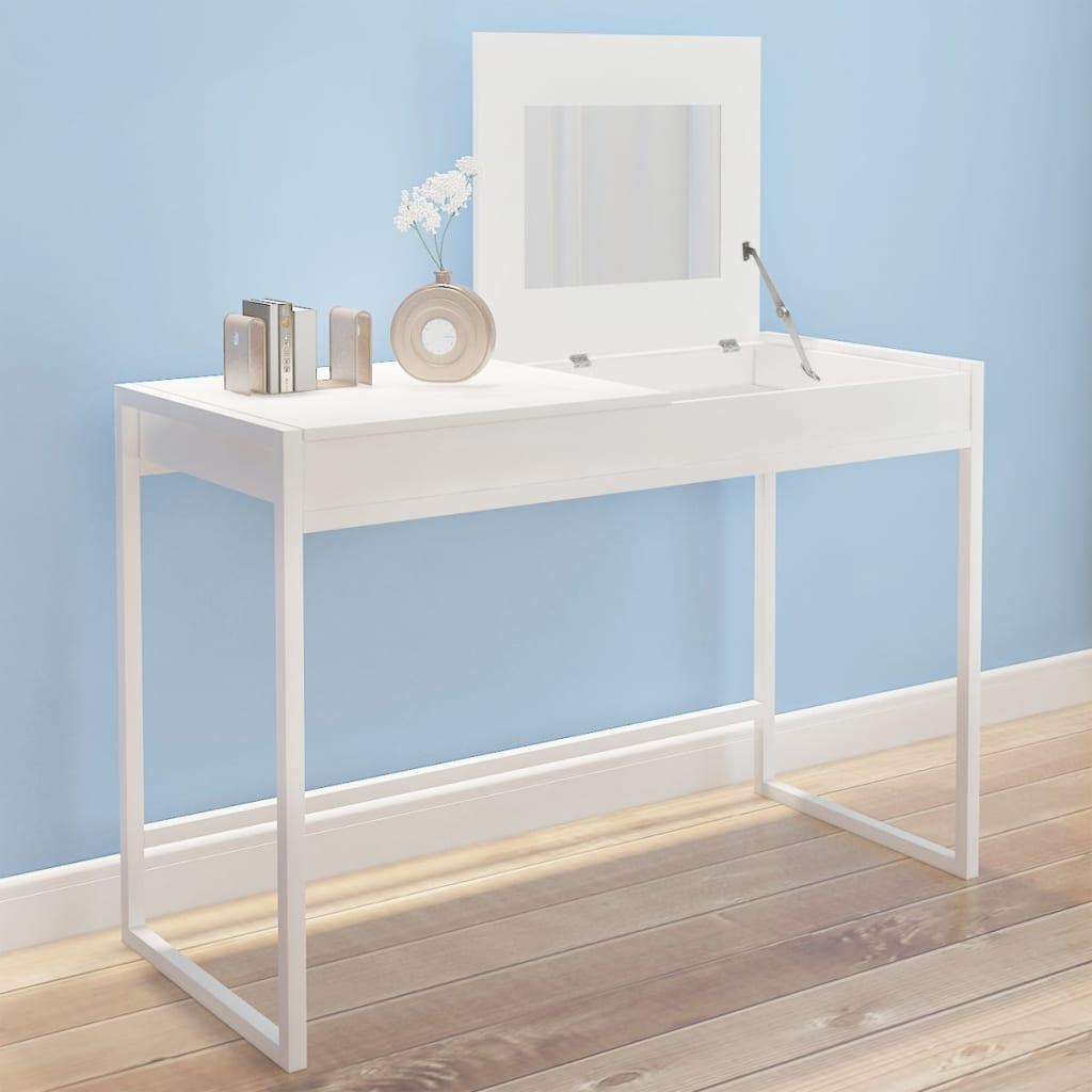 vidaXL fésülködőasztal fehér