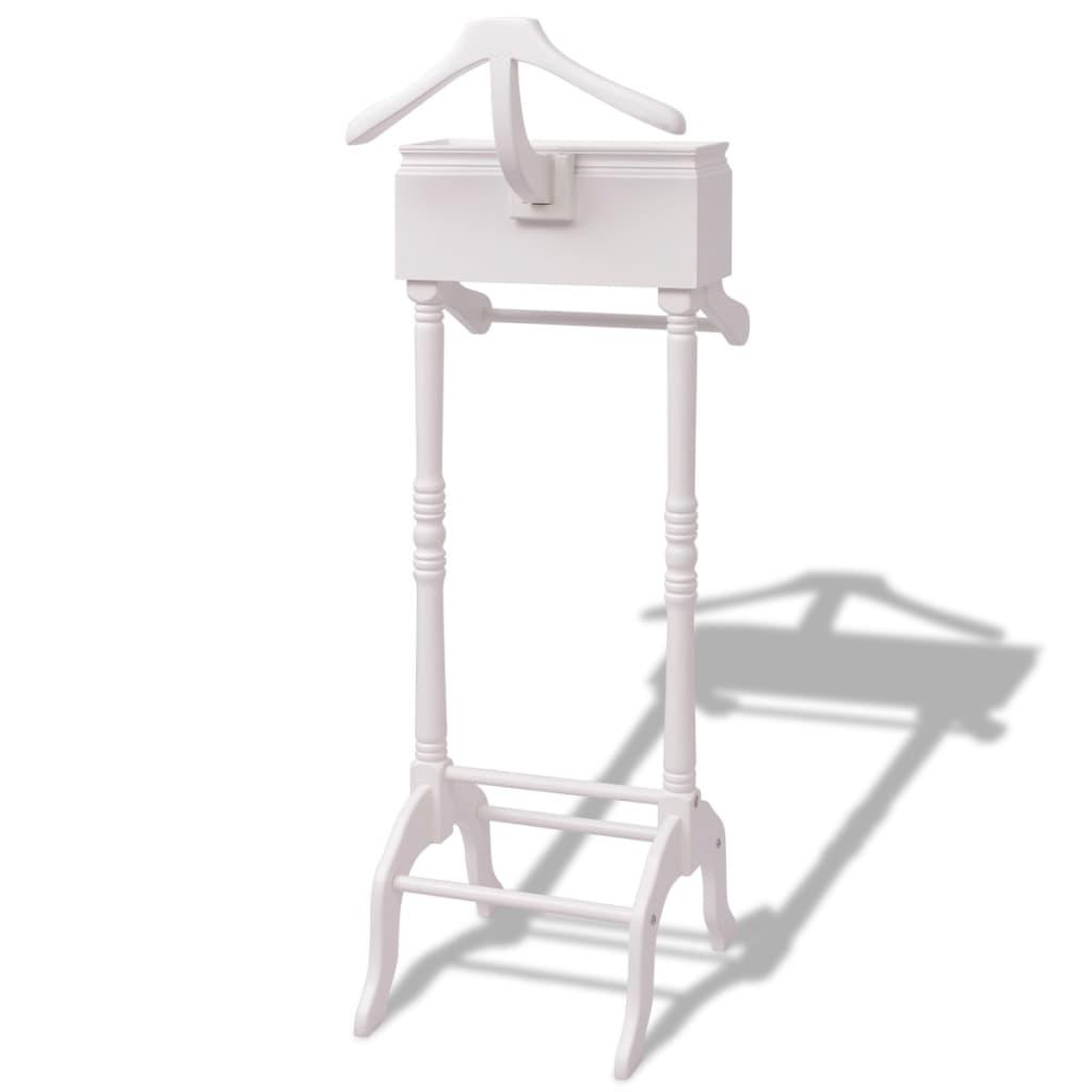 vidaxl kleiderst nder mit schubladen wei holz g nstig. Black Bedroom Furniture Sets. Home Design Ideas