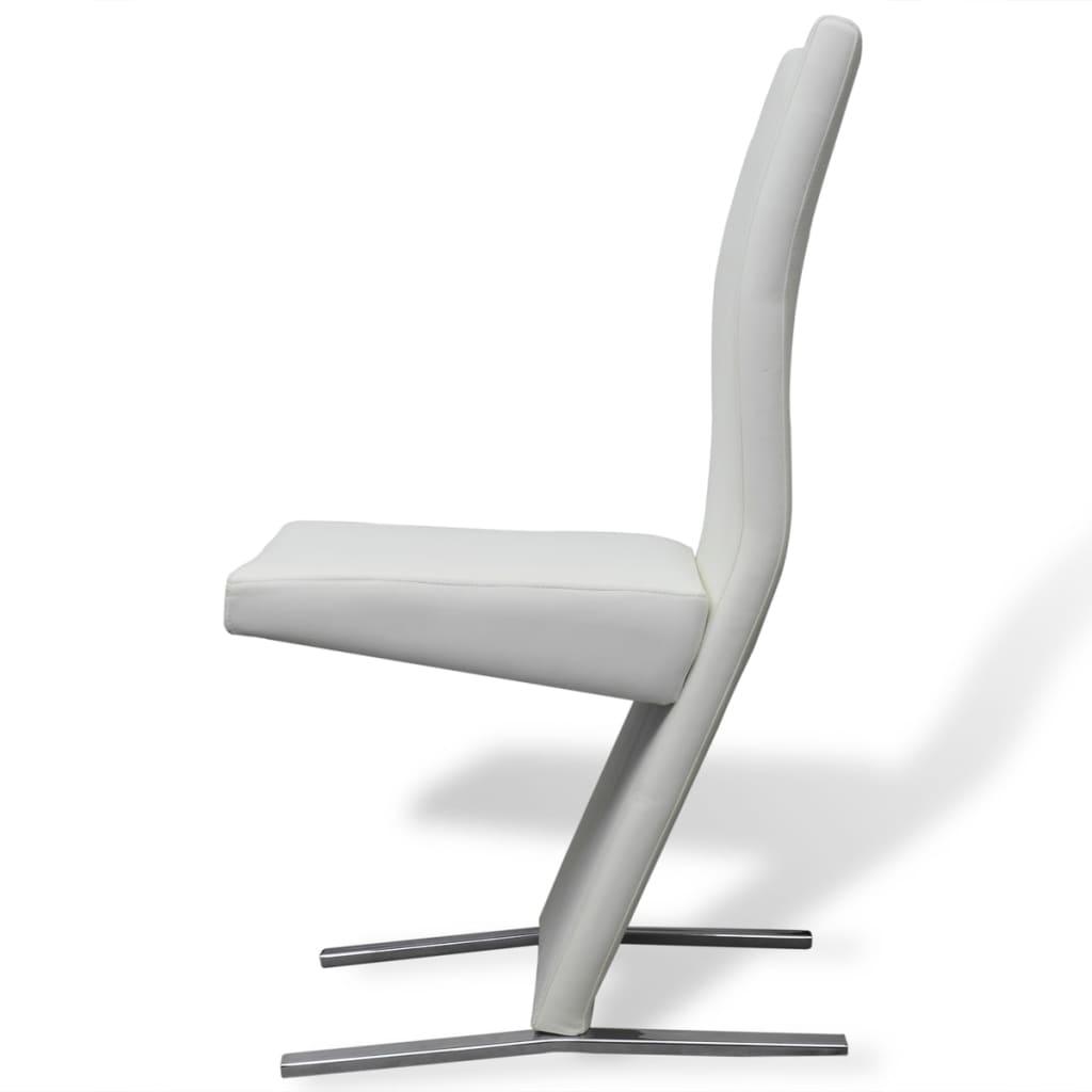 Vidax sedie per sala da pranzo 2 pezzi in pelle sintetica - Sedie da sala da pranzo ...