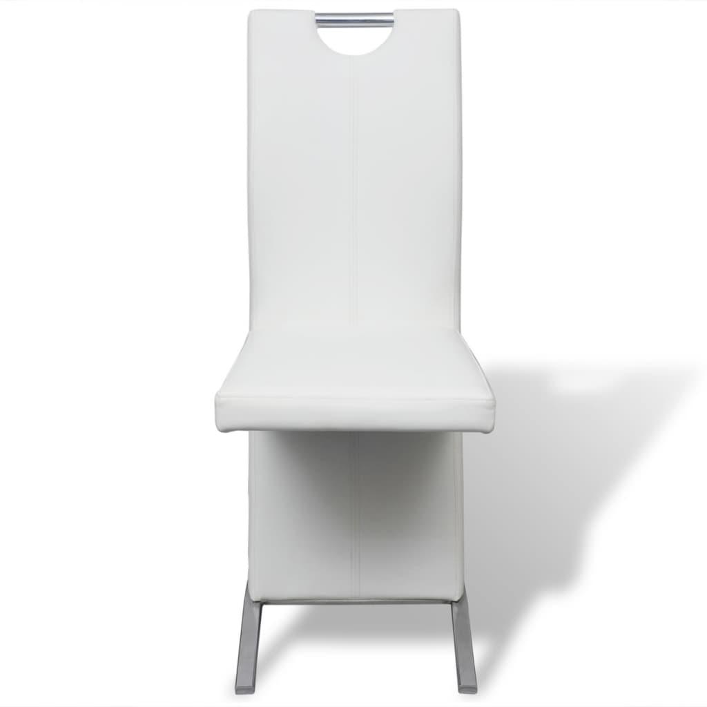 Vidax sedie per sala da pranzo 2 pezzi in pelle sintetica for Sedie da sala da pranzo