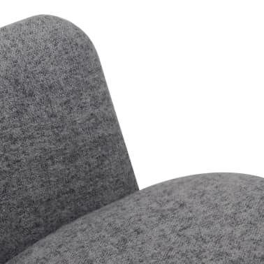 vidaxl esszimmerst hle 2 stk stoff grau g nstig kaufen. Black Bedroom Furniture Sets. Home Design Ideas