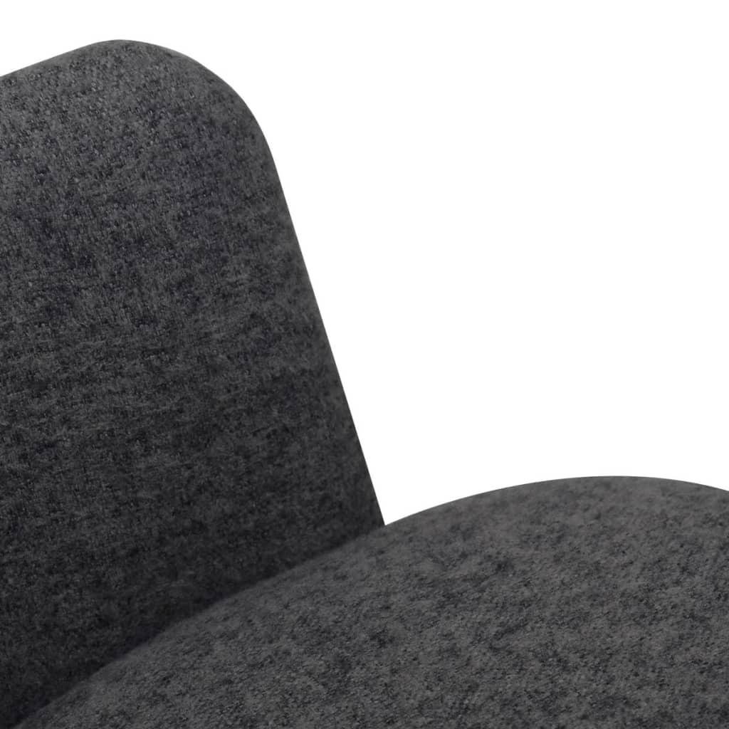 Vidaxl esszimmerst hle 2 stk stoff dunkelgrau g nstig for Esszimmerstuhle stoff