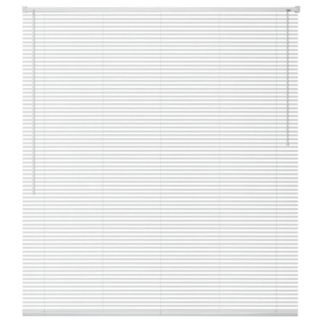 vidaXL ablakredőny alumínium 100x130 cm fehér