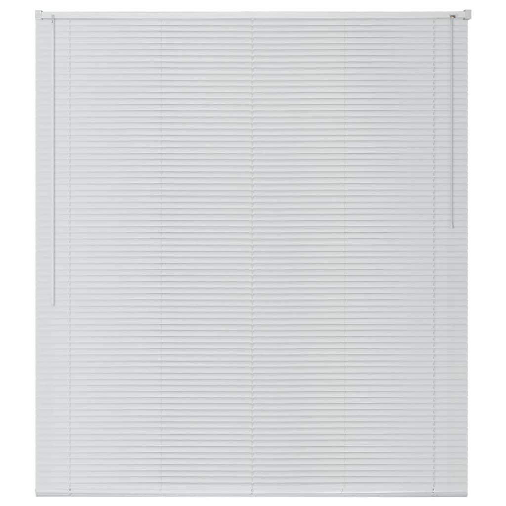 acheter vidaxl store aluminium 120 x 160 cm blanc pas cher. Black Bedroom Furniture Sets. Home Design Ideas