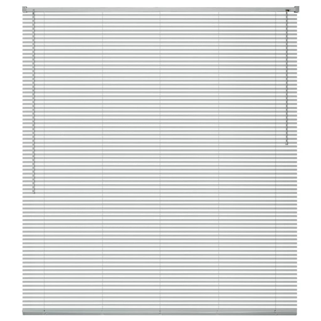 vidaXL ablakredőny alumínium 60x220 cm ezüst