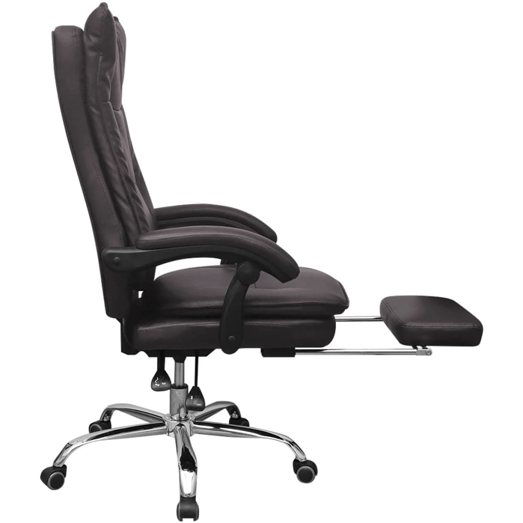 La boutique en ligne vidaxl chaise de bureau inclinable - Chaise de bureau en solde ...