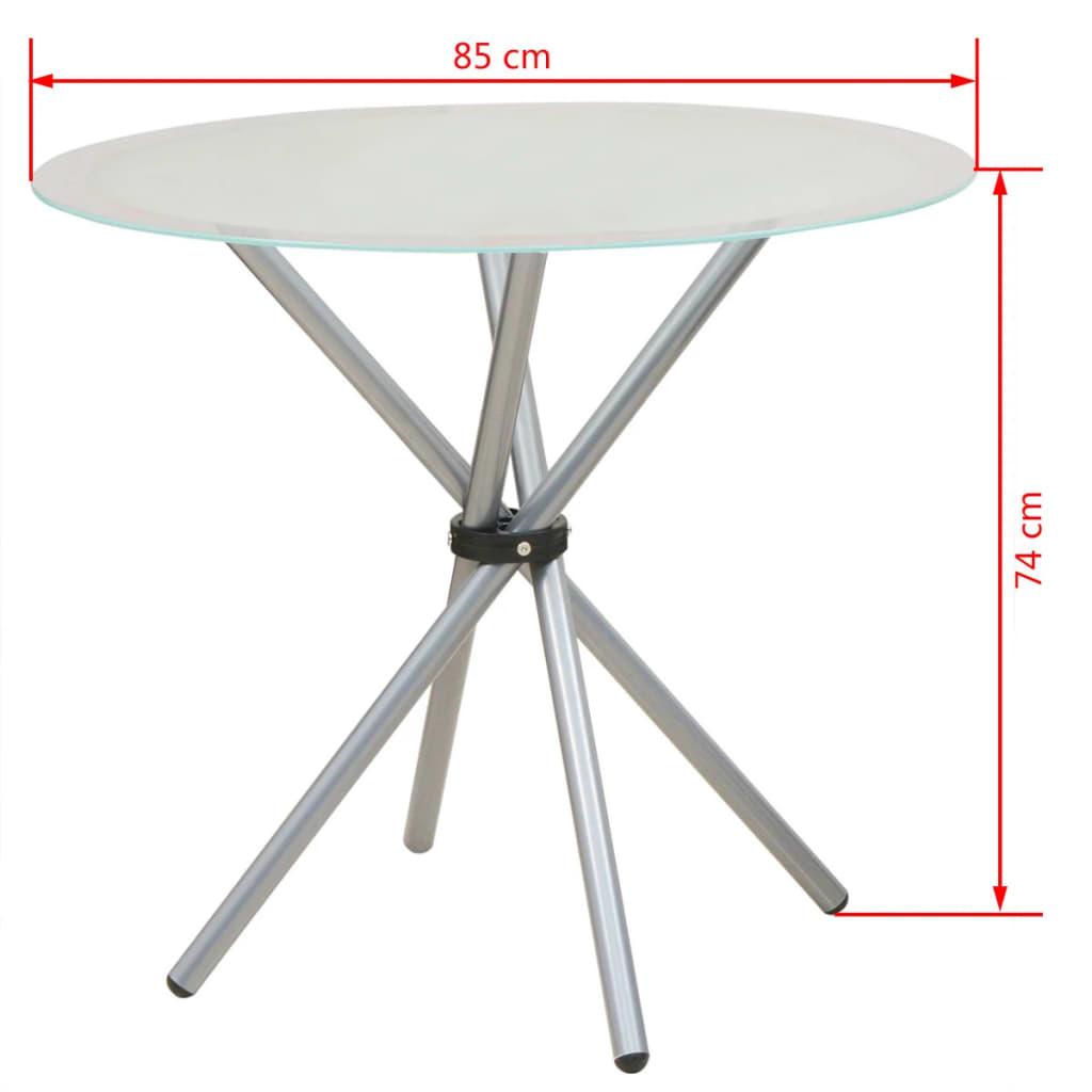 vidaxl 3 tlg essgarnitur esstisch mit st hlen g nstig kaufen. Black Bedroom Furniture Sets. Home Design Ideas