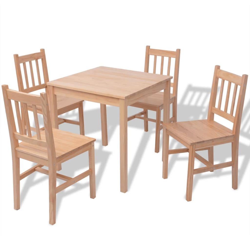 5 Piece Dining Room Sets Amazon Com: 5 Piece 1 Dining Table And 4 Chairs Set Kitchen Home