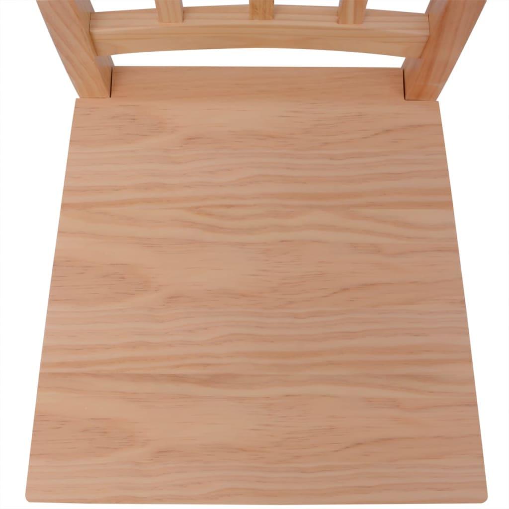 Vidaxl set de comedor siete piezas madera de pino - Tratamiento para madera de pino ...