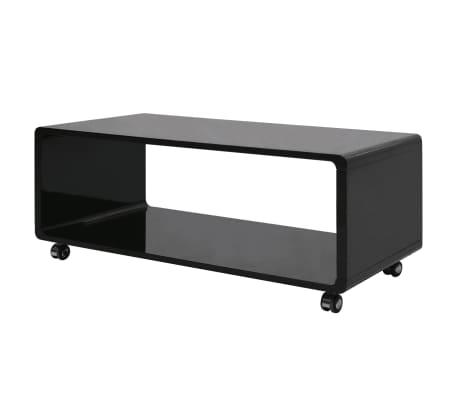 vidaxl hochglanz couchtisch schwarz im vidaxl trendshop. Black Bedroom Furniture Sets. Home Design Ideas