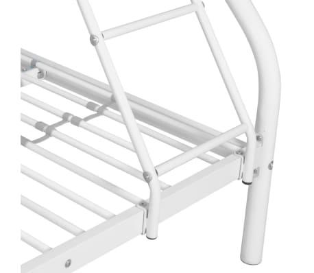 vidaxl kinder etagenbett 200x140 200x90 cm metall wei im vidaxl trendshop. Black Bedroom Furniture Sets. Home Design Ideas