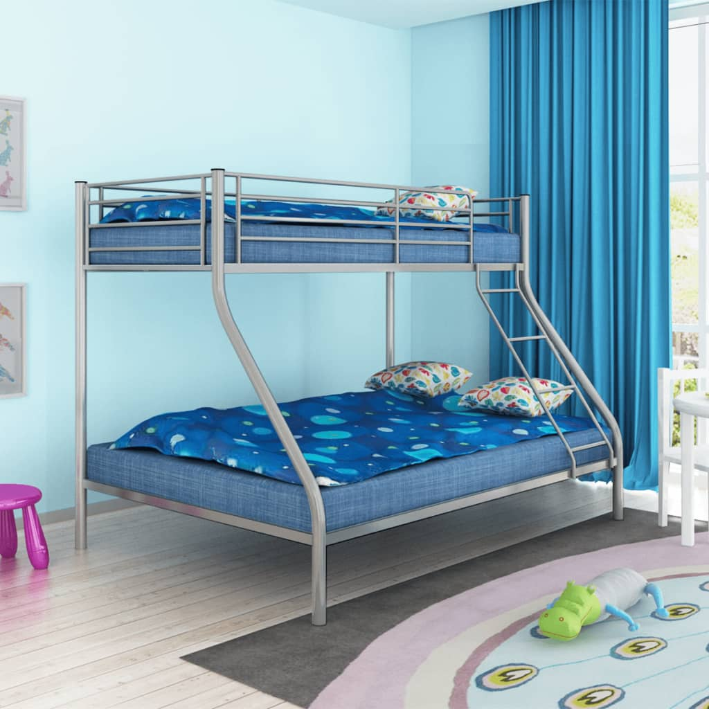 acheter vidaxl cadre de lit superpos pour enfant 200x140. Black Bedroom Furniture Sets. Home Design Ideas