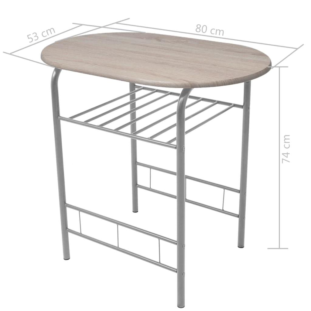 La boutique en ligne vidaxl ensemble de meuble pour salle for Meuble pour salle a manger