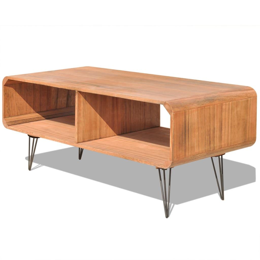 vidaXL TV-meubel 90 x 39 38,5 cm hout bruin