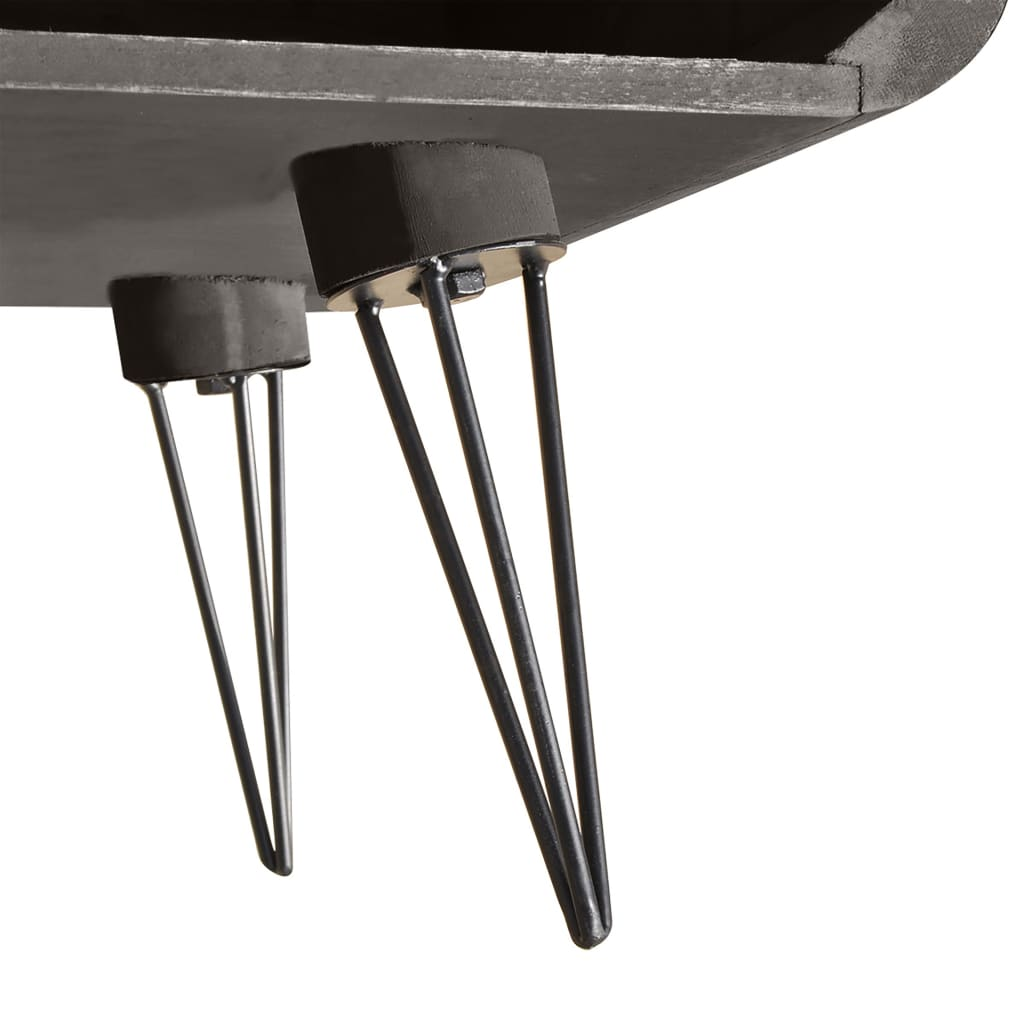 Coffee Table TV Cabinet Stand Storage Steel Legs Living
