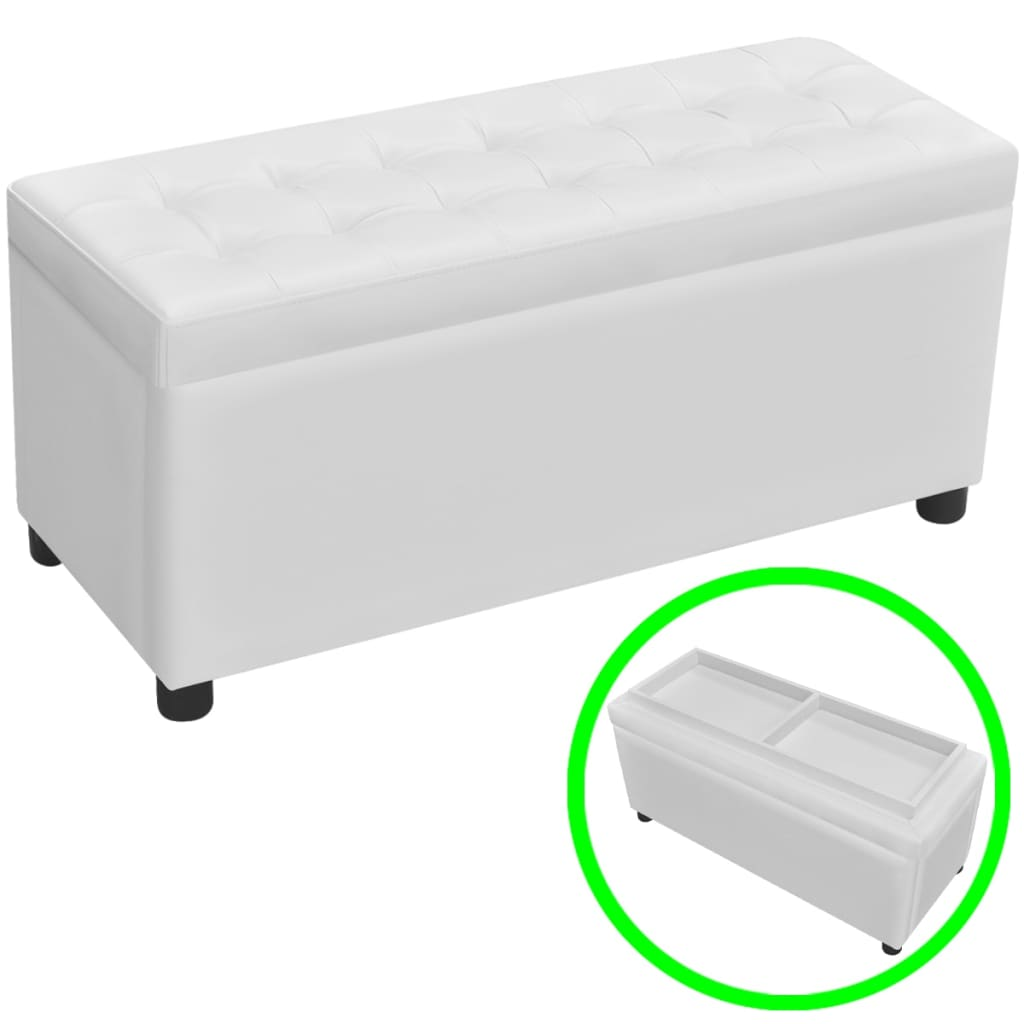 Popular 225 List White Ottoman