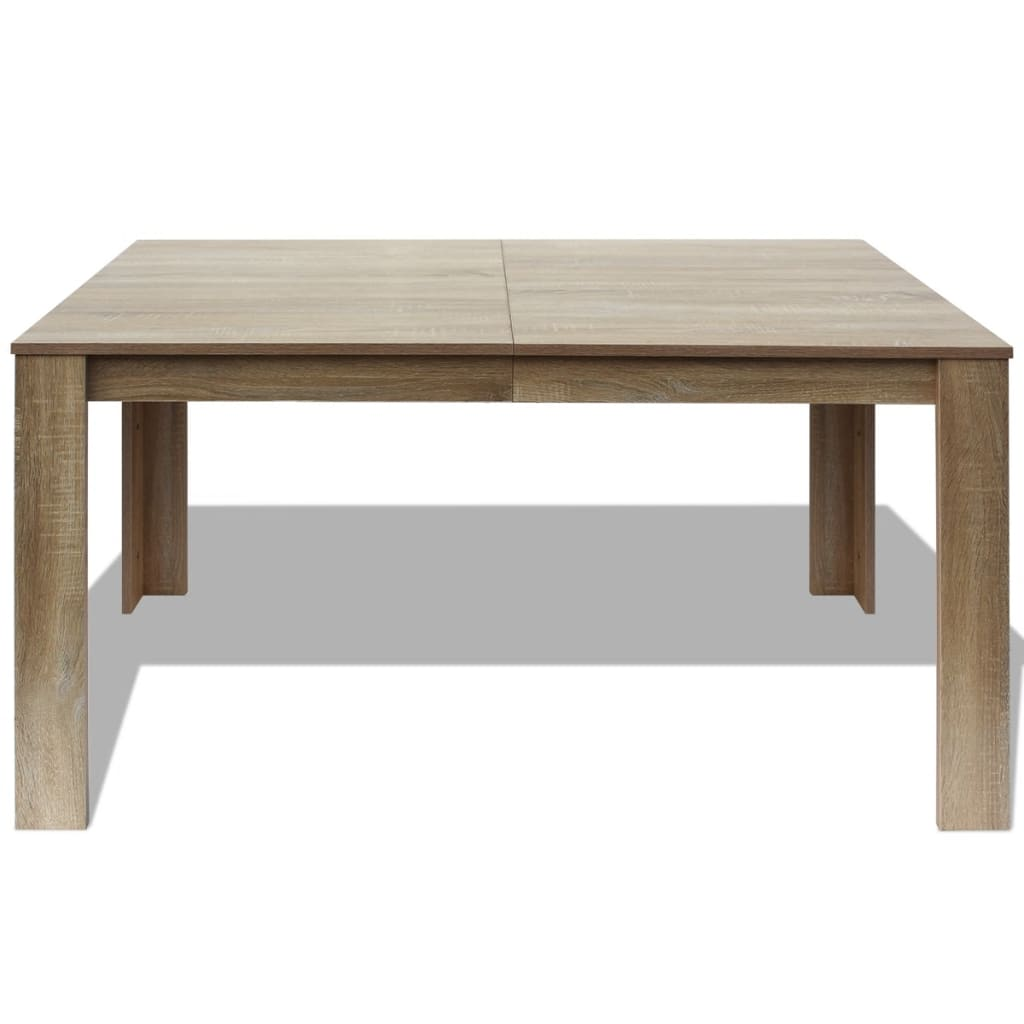 vidaXL Dining Table 140x80x75 cm Oak vidaXLcouk : image from www.vidaxl.co.uk size 1024 x 1024 jpeg 44kB