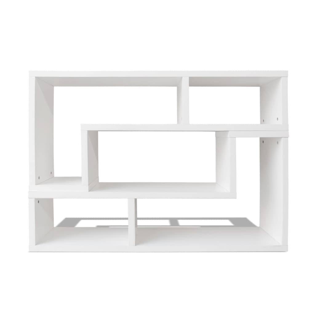 La boutique en ligne vidaxl meuble tv double en forme de l for Meuble tv en l