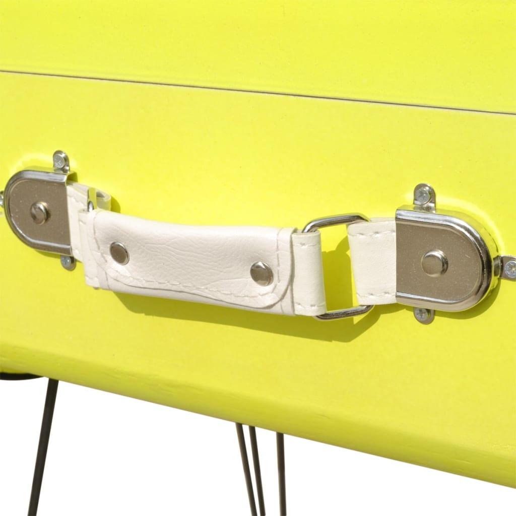 vidaXL-Table-de-chevet-49-5x36x60-cm-Jaune-Table-de-nuit-Support-de-telephone