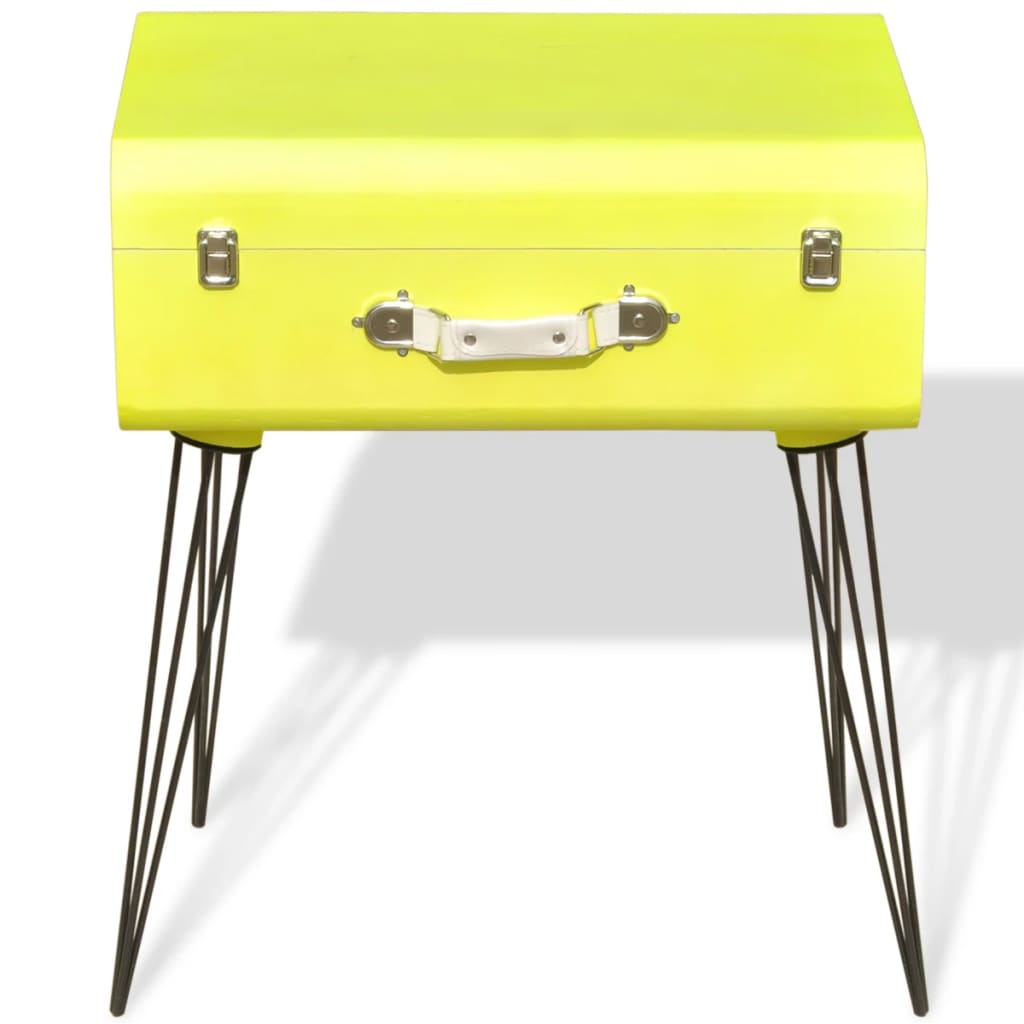 vidaxl side cabinet cm yellow. Black Bedroom Furniture Sets. Home Design Ideas