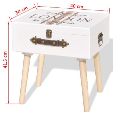 La Boutique En Ligne Vidaxl Table De Chevet 40 X 30 X 41 5