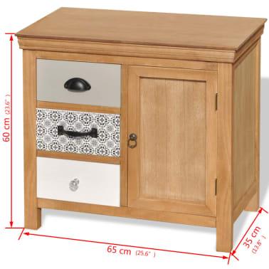 vidaxl sideboard 65x35x60 cm massivholz g nstig kaufen. Black Bedroom Furniture Sets. Home Design Ideas