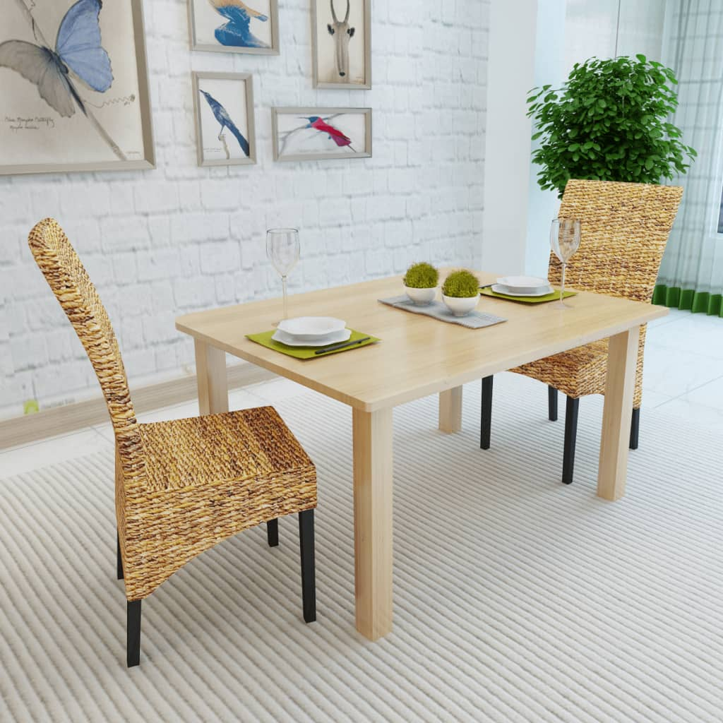 Acheter vidaxl chaises de salle manger 2 pi ces abaca for Acheter chaises de salle a manger