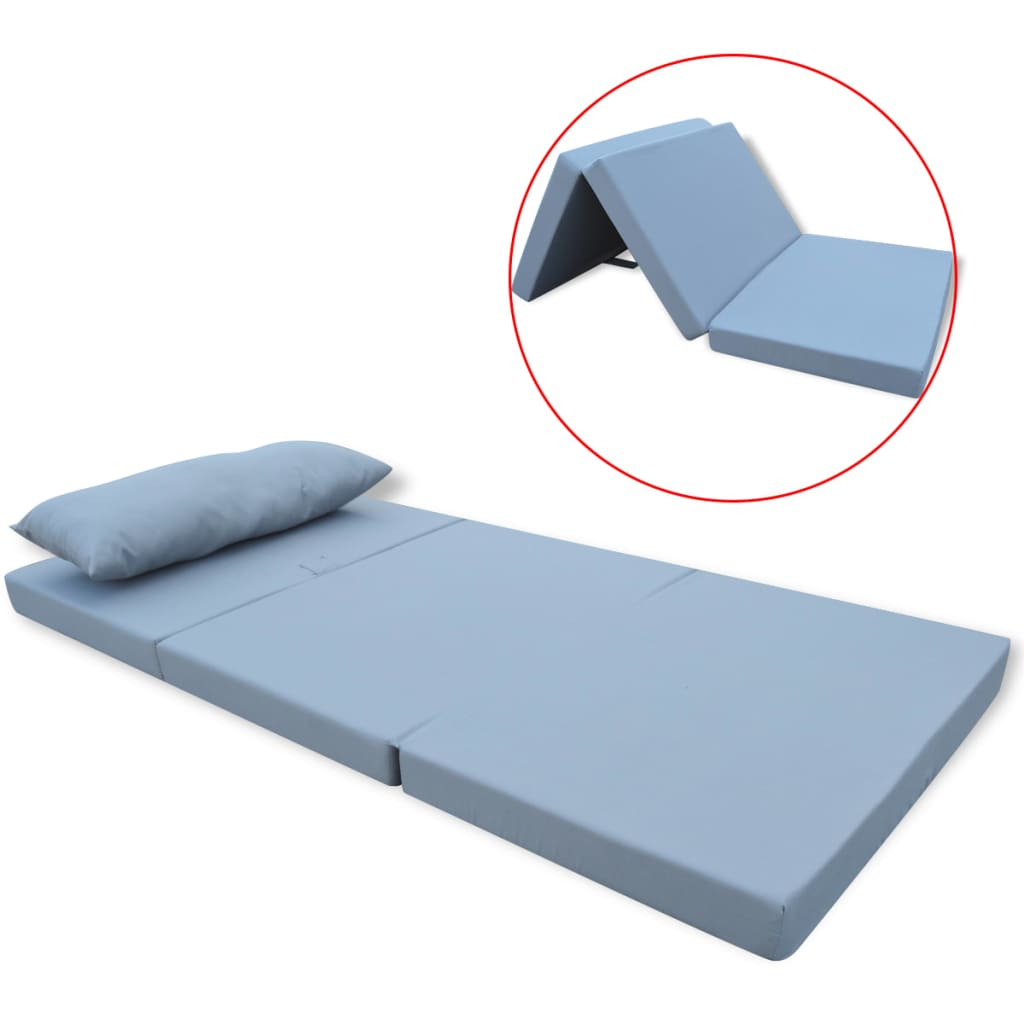 la boutique en ligne vidaxl matelas pliable pour enfants gris. Black Bedroom Furniture Sets. Home Design Ideas