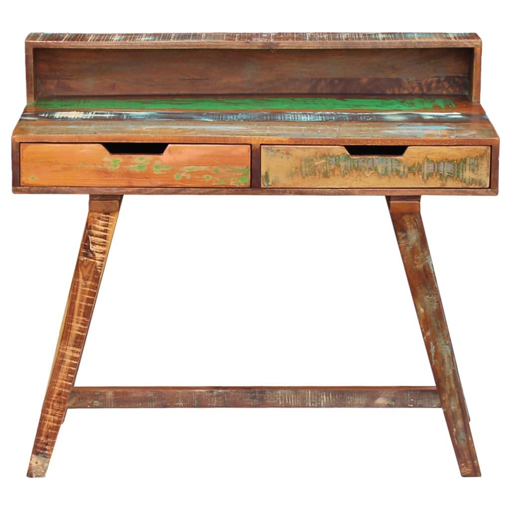 La boutique en ligne vidaxl bureau bois de r cup ration - Association de recuperation meubles gratuit ...