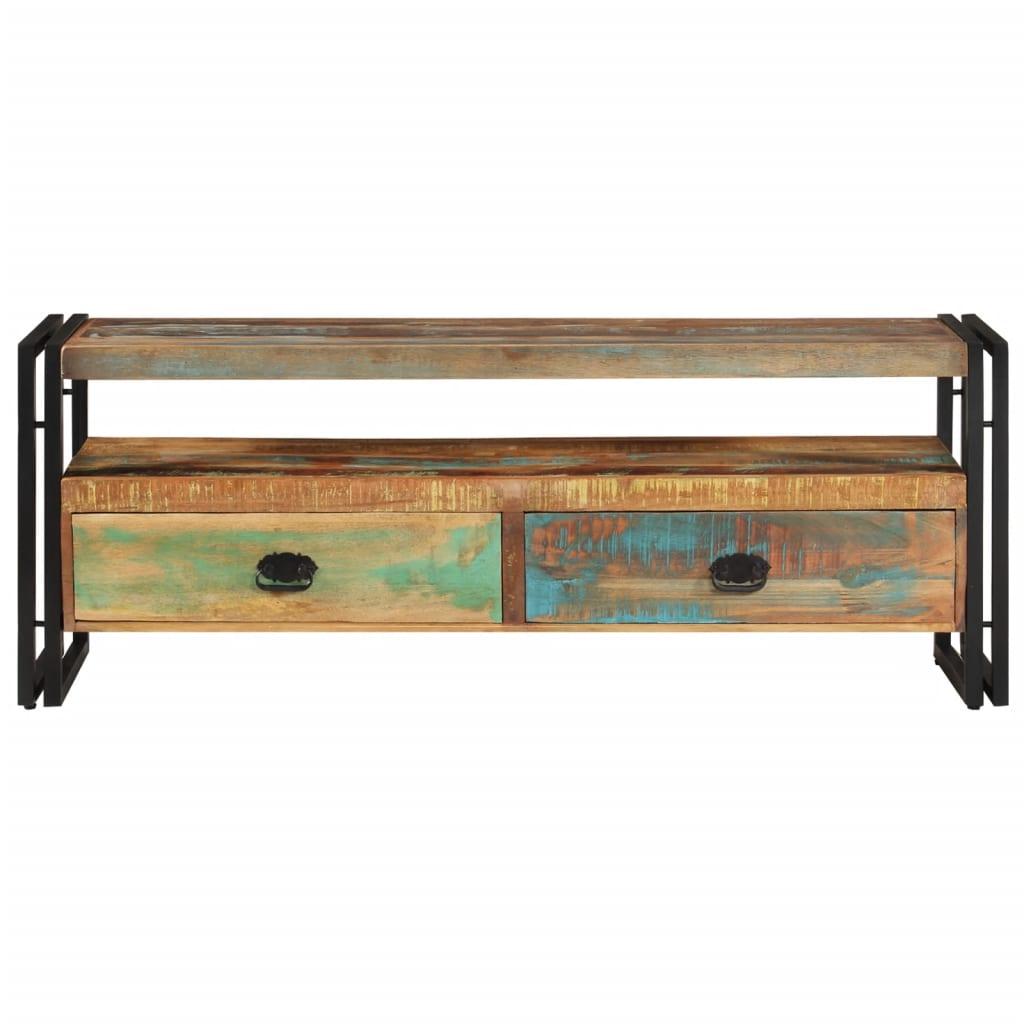 La boutique en ligne vidaxl meuble tv bois de r cup ration massif - Association de recuperation meubles gratuit ...