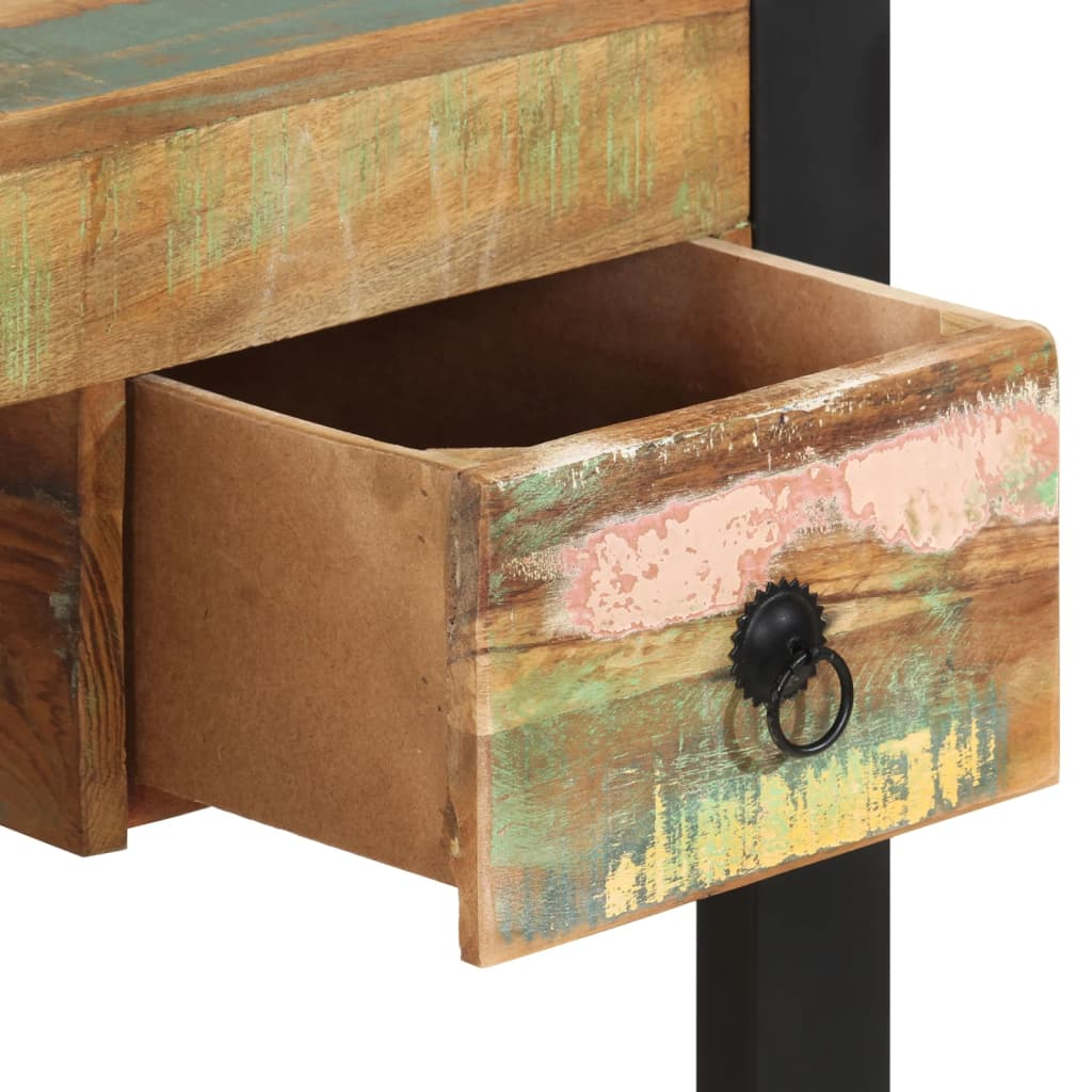 Vidaxl escritorio de madera maciza reciclada - Escritorios madera maciza ...