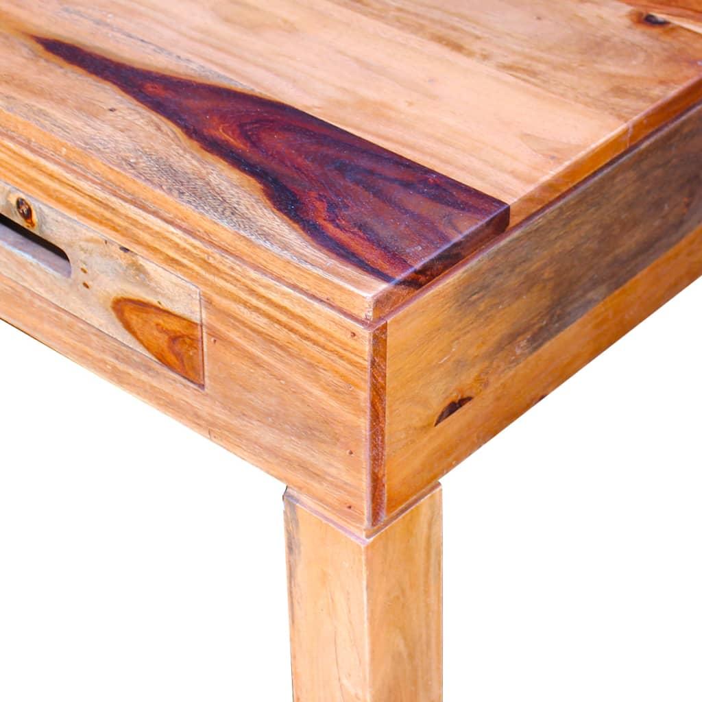 Vidaxl mesa de centro de madera maciza sheesham for Mesa de centro madera maciza
