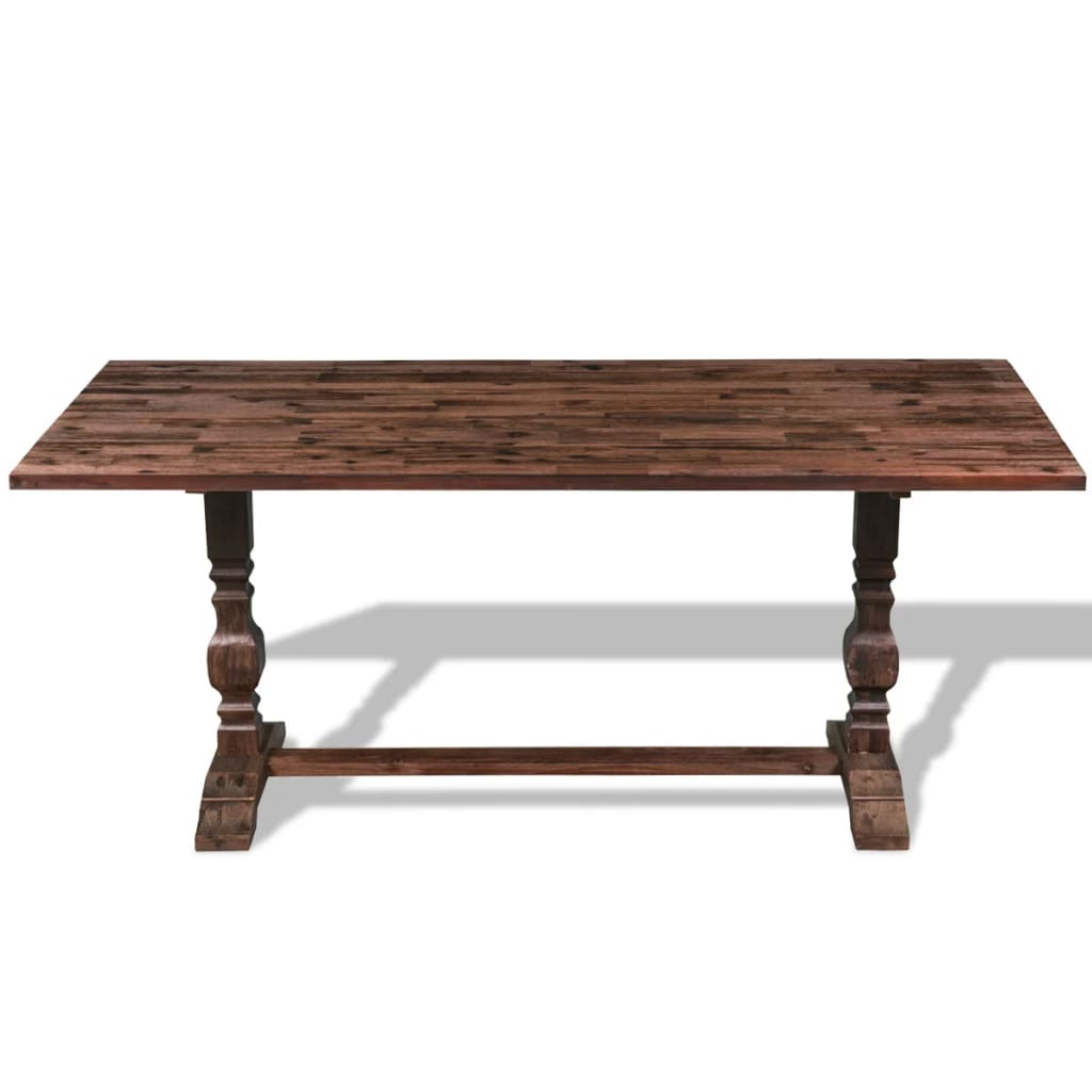 how to build a solid wood kitchen table