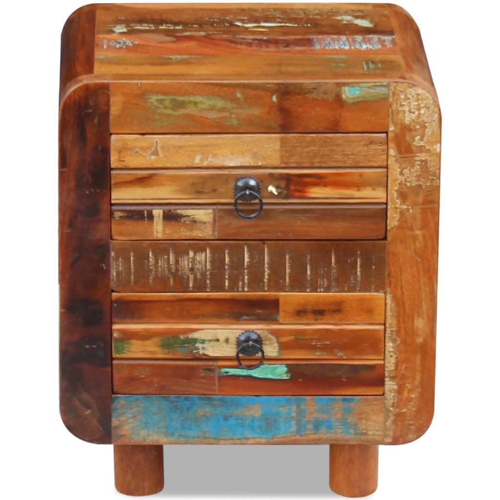 La boutique en ligne vidaxl table de nuit bois de r cup ration massif 43 x 33 - Association de recuperation meubles gratuit ...