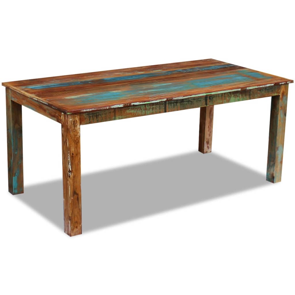 VidaXL Dining Table Solid Reclaimed Wood 180x90x76 Cm