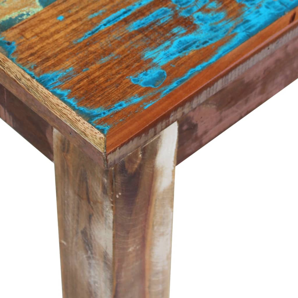 Vidaxl bench solid reclaimed wood 160x35x46 cm for Colorado reclaimed wood