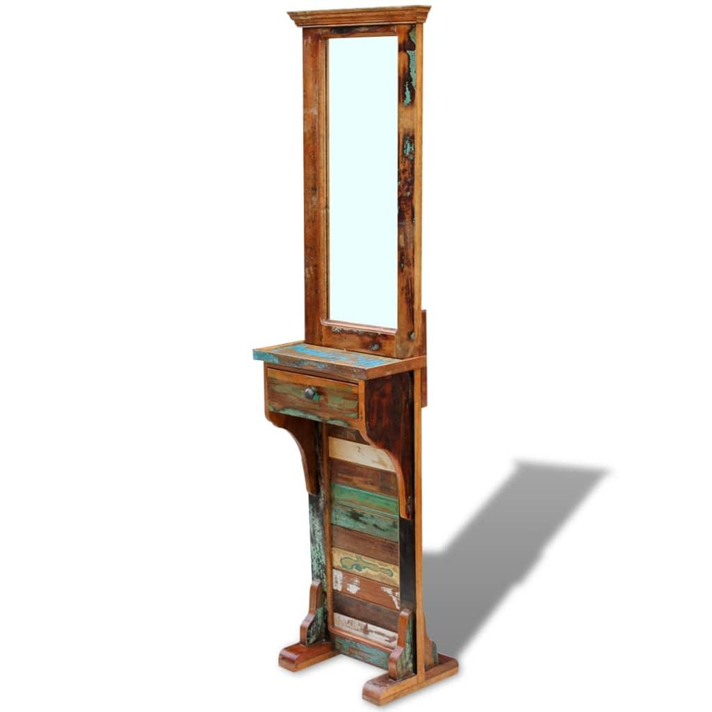 Vidaxl espejo para pasillo madera maciza reciclada - Espejos para pasillos ...